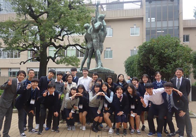 東京都立日比谷高校の事例の画像